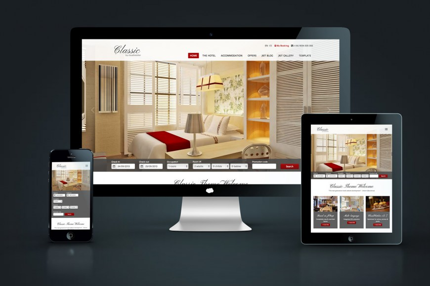 CloudHotelier Classic Theme
